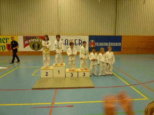 Kinderjudo Turnier Biglen Mai 2012