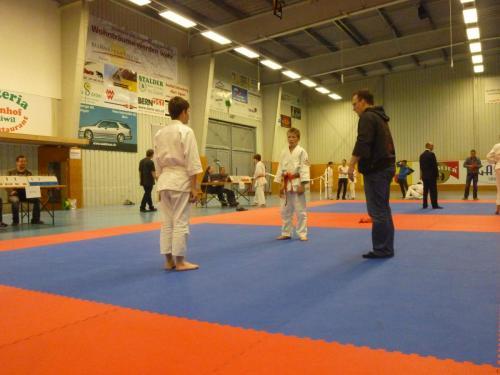 Kinderjudo Turnier Biglen Mai 2013